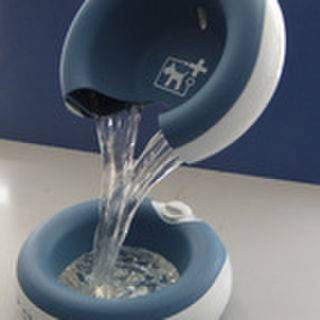 John Seymour marketing manager of Say Systems Ltd., regarding the TORUS water bowl